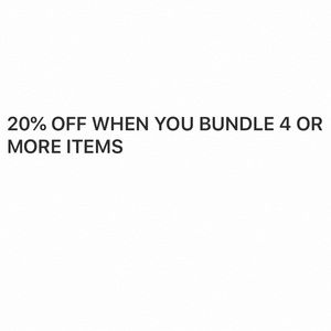 20% OFF YOUR ORDER!